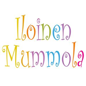automies-iloinen-mummola-logo