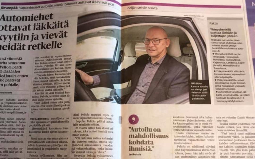 Vaikuttava juttu Helsingin Sanomissa – huomiota ja haasteita